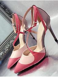 Damen-High Heels-Outddor-PUOthers-Schwarz Rosa