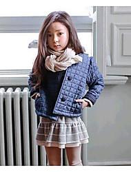 Girl Solid Suit & Blazer,Cotton Winter