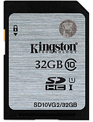 Kingston 32Go carte SD carte mémoire UHS-I U1 Class10
