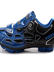 Tiebao Sneakers Casual Shoes Cycling Shoes Mountain Bike Shoes Men's Anti-Slip Breathable Mountain Bike Road Bike PVC Leather Rubber