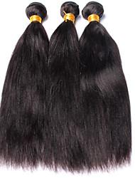 Tissages de cheveux humains Cheveux Brésiliens Yaki 12 mois 5 Pièces tissages de cheveux