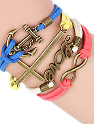Women's Bangles Alloy Fashion Handmade Cross Jewelry 1pc