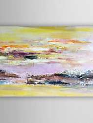 Hand-Painted  Abstract Landscape by Knife  Canvas Oil Painting With Stretcher For Home Decoration Ready to Hang