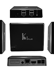 K1 Plus Amlogic S905 Android 5.1.1 Smart TV Box 4K HD 1G RAM 8G ROM Quad Core WiFi