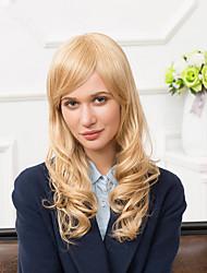 Charming Long Capless Wigs Natural Wavy Human Hair
