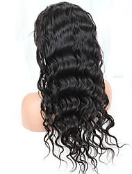 rendas completa perucas de cabelo humano 8-24 polegadas para cabelo virgem glueless perucas completa mulheres negras onda do corpo indiano