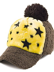 Ladies Cap Cap Autumn And Winter Fashion Five - Pointed Star Plush Baseball Cap Hat