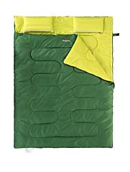 Camping Polster Schlafpolster Doppelter Schlafsack Doppelbett(200 x 200) 10-15 Polyester 600g 75*190X75Wandern Camping Reisen Jagd