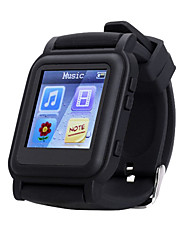 CARDMISHA Q998  MP4 Watch 4GB Memory music watch Support e-book reader  Music player Video Player