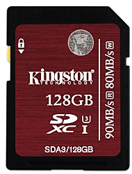 Kingston 128GB scheda SD scheda di memoria UHS-I U3 Class10