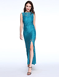 Maxi - Vestido - Renda - Cinto Não Incluído
