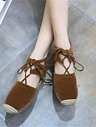 Women's Sandals Others Fleece Casual Black / Brown