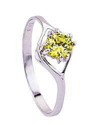 Ringe / Alltag Normal Schmuck Aleación Damen Ring 1 Stück,10 11 12 13 14 15 Silber