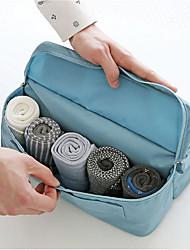 2 L Toilette Bag Viaggi Zip impermeabile Tessuto