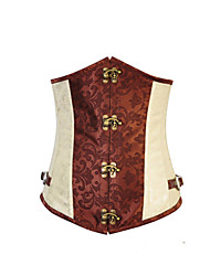 Cosplay Costumes More Costumes Festival/Holiday Halloween Costumes Corset / T-Back Halloween / Carnival Female Satin / Polyester