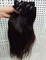 4pcs / lot 50g / piece 8-30 cheveux bruns vierges brutaux vierges cheveux mignons