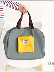 5 L Toilette Bag Viaggi Duffel Viaggi Zip impermeabile Terylene