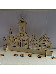 Wood Wedding Decorations-1Piece/Set Winter Non-personalized