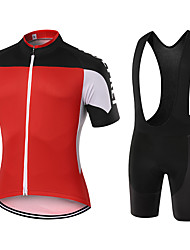 WOLFKEI Summer Cycling Jersey Short Sleeves BIB Shorts Ropa Ciclismo Cycling Clothing Suits #44