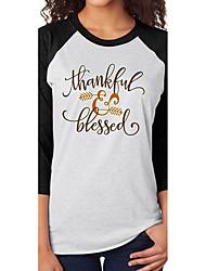 aliexpress ebay bénédictions modèles d'explosion thanksgiving flèche t-shirt décontracté imprimé