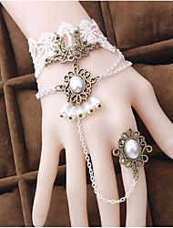 Bijoux Gothique Doux Lolita Classique/Traditionnelle Punk Wa Marin Bracelet/Bracelet ColoréInspiration Vintage Elégant Victorien