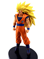 Figures Anime Action Inspiré par Dragon Ball Goku Anime Accessoires de Cosplay figure Orange PVC