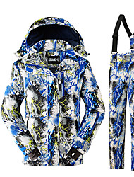 Ski Wear Clothing Suits Kid's Winter Wear Polyester Fashion Winter ClothingThermal / Warm High Breathability (>15,001g) Breathable