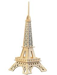 Puzzles Puzzles en bois Blocs de Construction Jouets DIY  Bâtiment Célèbre 1 Bois Ivoire Maquette & Jeu de Construction
