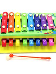 Bildungsspielsachen Holz Regenbogen Musik-Spielzeug