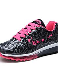 Feminino-Tênis-Conforto-Rasteiro-Roxo-Tecido-Para Esporte