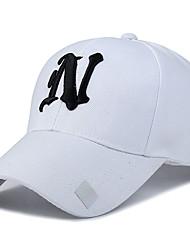 Chapéu Resistente Raios Ultravioleta Unissexo Basebal Verão Branco Rosa Cinzento Preto Azul Lago-Esportivo®