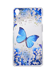 For SONY Xperia Z5 Z3 Case Cover Butterfly Pattern Back Cover Soft TPU