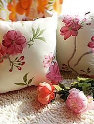 1 pcs Coton Taie d'oreiller,Rayé Fleur Antique Traditionnel/Classique