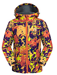 Ski Wear Tops Kid's Winter Wear Winter Clothing Waterproof Breathable Thermal / Warm Windproof WearableSkiing Skating Backcountry