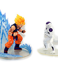 Figures Anime Action Inspiré par Dragon Ball Goku Anime Accessoires de Cosplay figure Blanc PVC