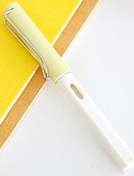 Caneta Caneta Canetas Caneta,Metal Barril Azul cores de tinta For material escolar Material de escritório Pack of