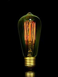 la source bofa de ST58 e27 25w art edison lumière déco de tungstène (85v-265v)