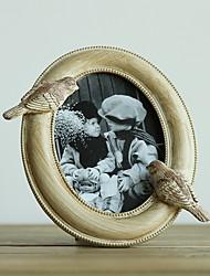 Vintage Theme Résine Cadre photo Chocolat