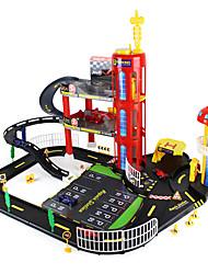 Трек вагоностроительный Игрушки Креатив Необычные игрушки Автомобиль Оригинальные Радужный Пластик Рождество День рождения День детей