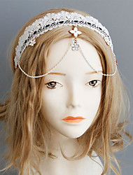 Headpiece Inspired by Cosplay Cosplay Anime Cosplay Accessories Headpiece White Nonwoven Fabric Male / Female / Kid