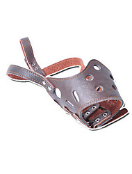 Muzzle Anti Bark Solid Genuine Leather