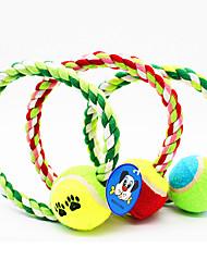 Jouets pour Animaux Jouets de mastication Corde Tennis