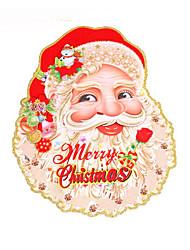 Christmas Decorations / Christmas Party Supplies Holiday Supplies Santa Suits Paper Rainbow/2Packs 4Pcs