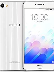 "MEIZU X 2.5D 5.5 "" Android 6.0 4G Smartphone (Dual SIM Octa Core 12 MP 3GB + 32 GB Gold White)"