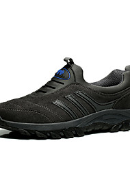Men's Outdoor Shoes Slip on Comfort Suede Leather Outdoor/Casual Walking Fashion Hiking Shoes Plus Size