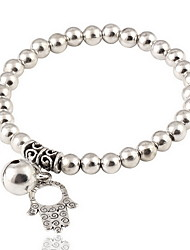 Bracelet Strand Bracelet Alloy Others Friendship Gift / Daily / Casual Jewelry Gift Silver,1pc