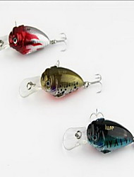 1 pcs Crank luminous Freshwater Fishing Hard Bait Fishing Lures Random Colors Hard Plastic Sea Fishing