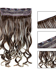 5 роликов волнистые 12/613 синтетический зажим для волос в волос расширений для дам больше цветов, доступных