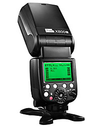 PIXEL® X800 CPRO fill flash light andhigh-speed synchronous flash for Canon camera