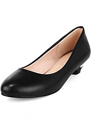 Women's Heels Spring Summer Fall Novelty Comfort Patent Leather Leatherette Wedding Office & Career Dress Casual Party & Evening Low Heel